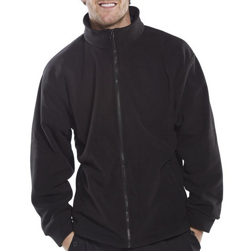 Black Fleece Jacket Large