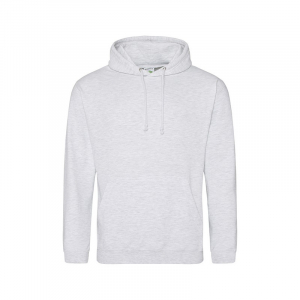 JH001 College Hoodie Ash Small