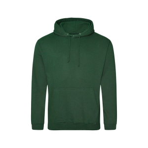 JH001 College Hoodie Bottle Green XL