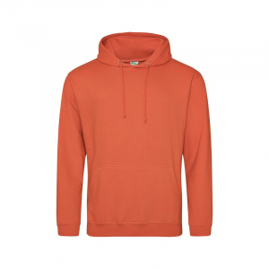 JH001 College Hoodie Burnt Orange Large