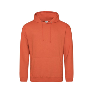 JH001 College Hoodie Burnt Orange XXL