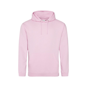 JH001 College Hoodie Baby Pink 3XL
