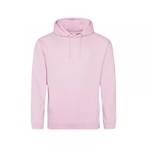 JH001 College Hoodie Baby Pink XS