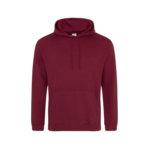JH001 College Hoodie Burgundy   Medium