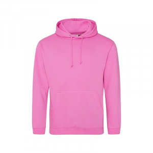 JH001 College Hoodie Candyfloss Pink XXL