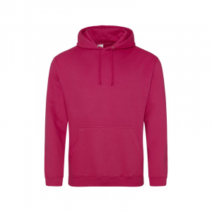 JH001 College Hoodie Cranberry Small