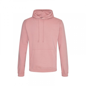 JH001 College Hoodie Dusty Pink Large