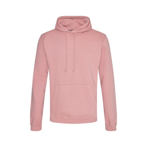 JH001 College Hoodie Dusty Pink Small