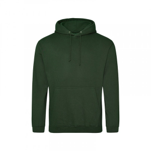 JH001 College Hoodie Forest Green Medium
