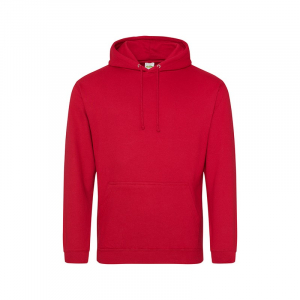 JH001 College Hoodie Fire Red Small