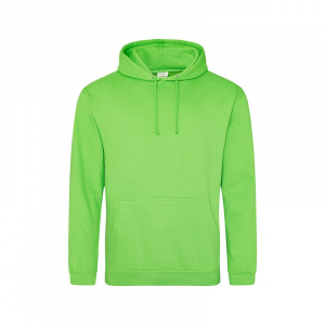 JH001 College Hoodie Alien Green Large