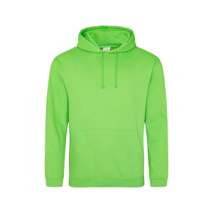 JH001 College Hoodie Alien Green Small