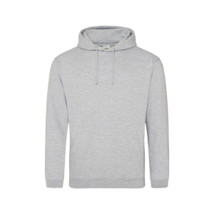 JH001 College Hoodie Heather Grey XL
