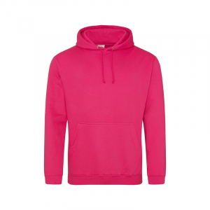 JH001 College Hoodie Hot Pink Small