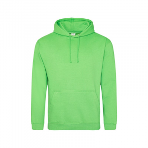 JH001 College Hoodie Lime Green Medium