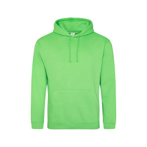 JH001 College Hoodie Lime Green Small