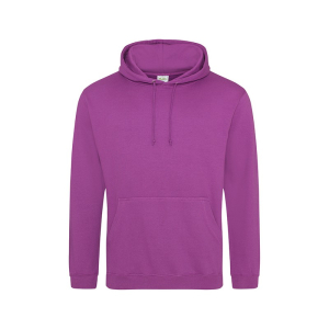 JH001 College Hoodie Magenta Magic 3XL