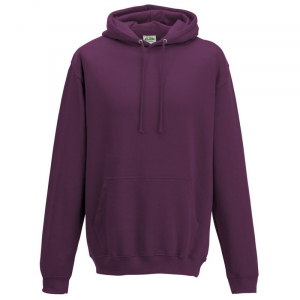 JH001 College Hoodie Plum Medium