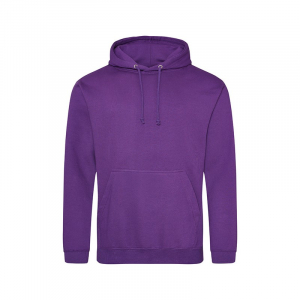 JH001 College Hoodie Purple Small