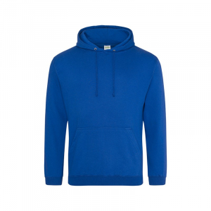 JH001 College Hoodie Royal Blue Small