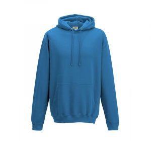 JH001 College Hoodie Tropical Blue Small