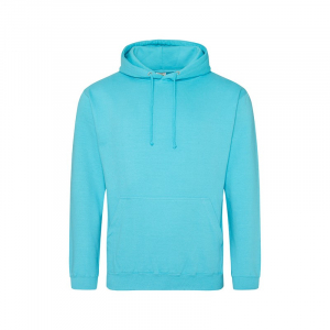 JH001 College Hoodie Turquoise Surf Large