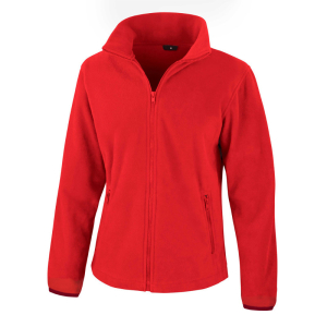 RS220F Ladies Fleece Jacket Flame Red XL