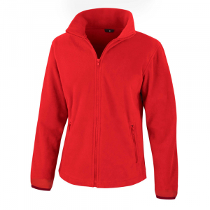 RS220F Ladies Fleece Jacket Flame Red XXL