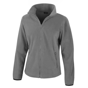 RS220F Ladies Fleece Jacket Pure Grey Medium