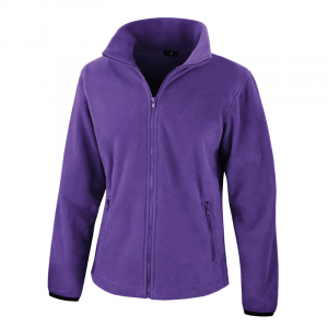 RS220F Ladies Fleece Jacket Purple XS