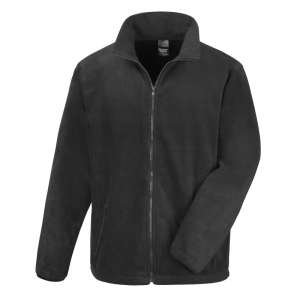 RS220M Fleece Jacket Black Medium