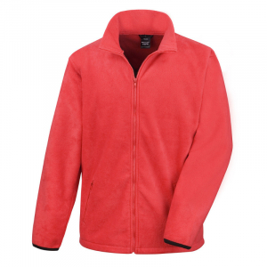 RS220M Fleece Jacket Flame Red XXL