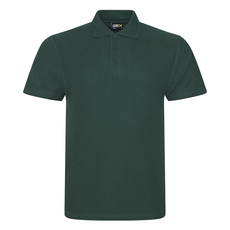 RX101 Pique Polo Shirt Bottle Green Large