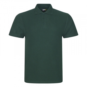 RX101 Pique Polo Shirt Bottle Green Medium