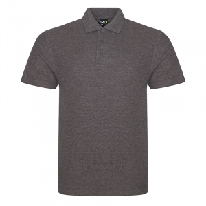 RX101 Pique Polo Shirt Charcoal Small