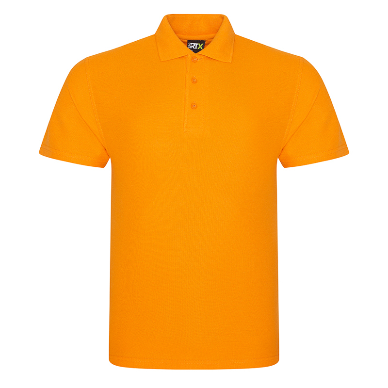 RX101 Pique Polo Shirt Orange Large