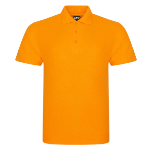 RX101 Pique Polo Shirt Orange Medium