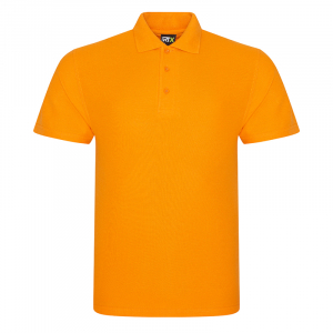 RX101 Pique Polo Shirt Orange XS
