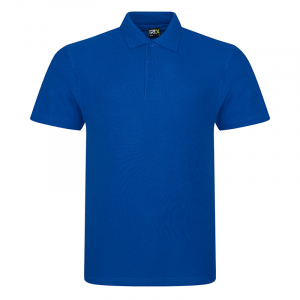 RX101 Pique Polo Shirt Royal Blue Large