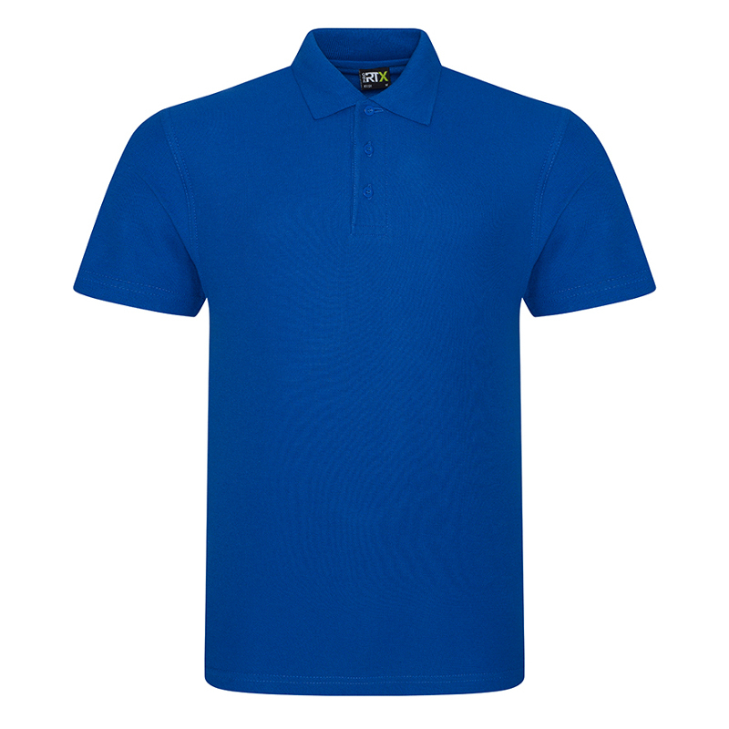 RX101 Pique Polo Shirt Royal Blue XL