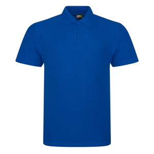 RX101 Pique Polo Shirt Royal Blue XS