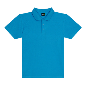RX101 Pique Polo Shirt Turquoise Large