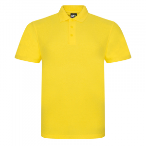 RX101 Pique Polo Shirt Yellow Large