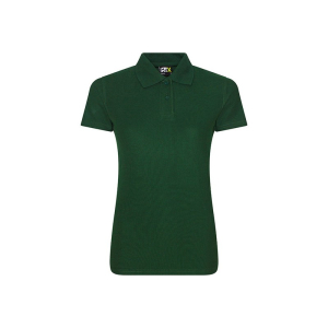 RX101F Ladies Polo Shirt Bottle Green Large