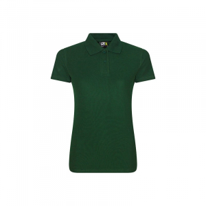 RX101F Ladies Polo Shirt Bottle Green Medium