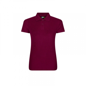 RX101F Ladies Polo Shirt Burgundy XXL