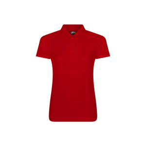RX101F Ladies Polo Shirt Red 3XL