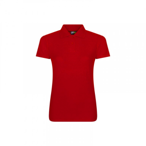 RX101F Ladies Polo Shirt Red 4XL