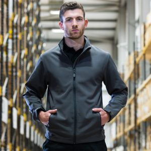 RX500 Pro Soft Shell JacketCharcoal Small
