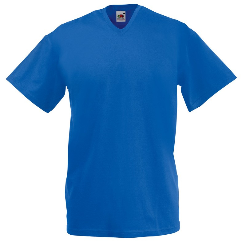 SS7 Value V-Neck T-Shirt Royal Large